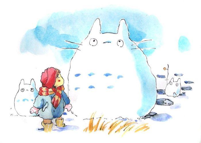 大学画的龙猫😋2007.01.03 Totoro Hayao Miyazaki My Drawing Drawing Draw Art Art, Drawing, Creativity Check This Out Hobby