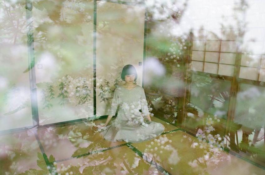 Feelings Nature Flowers Portrait Of A Woman Emotional Photography NonaNana Feeling