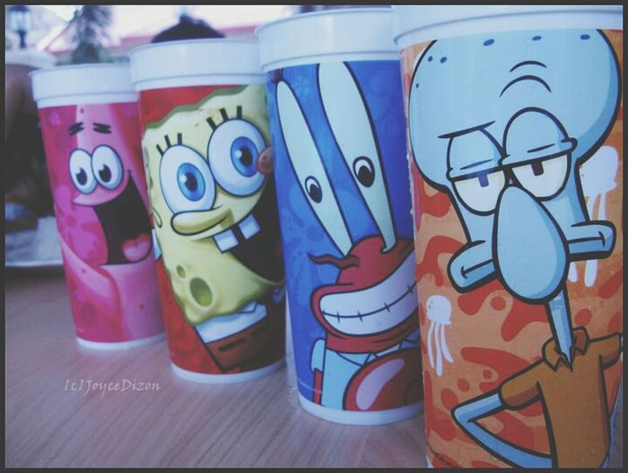 Who lives in a pineapple under the sea? Spongebob Squarepants!! Childhood