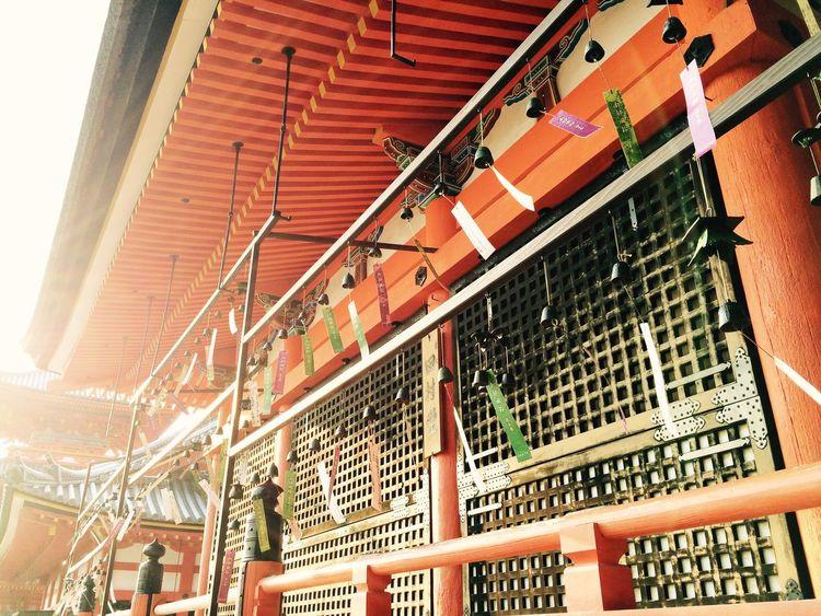 Kiyomizu-dera Temple had many wind-bells Japan Kyoto Temple Wind-bell Kiyomizu-dera