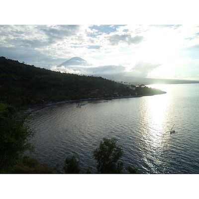 Amed beachFrom  the highEast baliInstanesia Amazingindonesia instanusantarabalinesiaindonesia