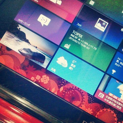 いきおいでパソコン買ったったー(๑¯ω¯๑) XP→8の差に愕然~~