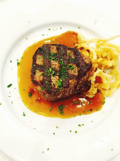 Steak Dinner Filetmignon Food Foodporn