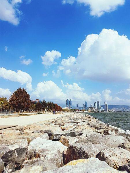 EyeEm Selects Cloud - Sky Sky Outdoors Sea Day No People Blue Water Followme Shot Life Follow Beautiful Good Türkiye Like Turkey Best  Photo Best  City Lover Nature Clear Sky