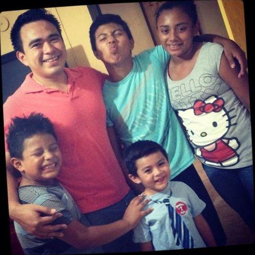 My family Esteban Said Cristian Tió Gonzalo