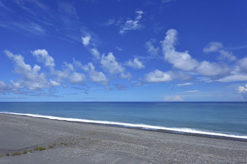 Taiwan's eastern coastline scenic area, is a station Taitung station is the coastline of the most beautiful scenery of a small train station. Holiday More Station White Clouds Beach Beautiful Coast Beauty In Nature Blue Blue Sky Cloud - Sky Day Horizon Over Water Idyllic Journey Nature No People Outdoors Sand Scenics Sea Sky Tranquil Scene Tranquility Water