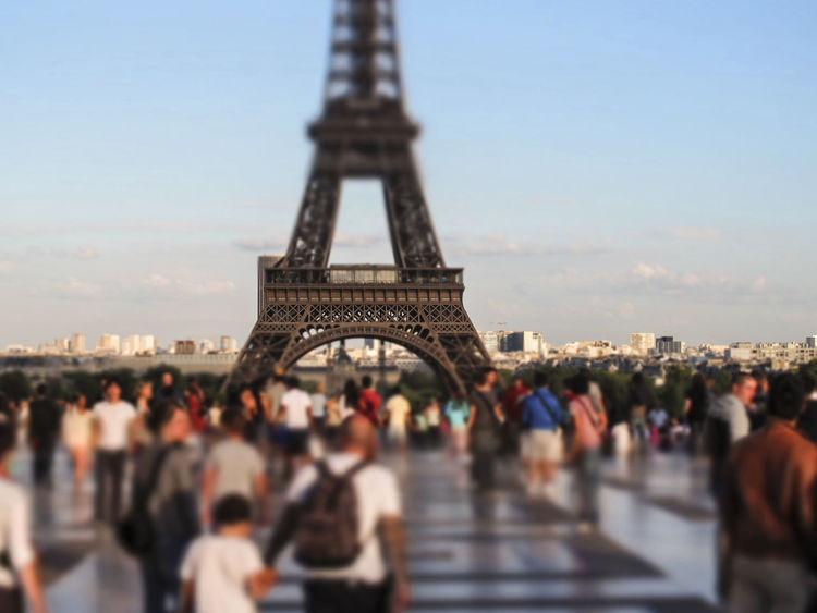 Paris - The Eiffel Tower Architecture Building Champs De Mars City Eiffel Tower France Gustave Eiffel Iron Paris Sacred Structure Summertime Tour Eiffel Town Urban