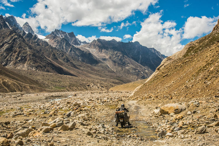 Lost in the Landscape Driving on tough highways is a never endi Go Higher Lost In The Landscape Mountain Nature Mountain Range Landscape Real People Desert Beauty In Nature People Nikon D750 Road Less Travelled Mountains Mountain Peak Lonelyplanet Highway National Highway Tough Terrain Tough Guy Adventure Getty Images Nikon India Himalayas Himachalpradesh Travel Photography