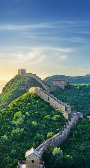 Pull on some boot pack your bags and run away to the wild China Great Wall Architecture History Travel Destinations Built Structure