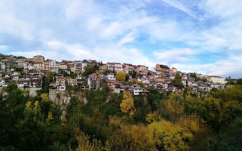 Travel in Veliko Tarnovo, Bulgaria~ Cityscape House Residential Building Building Exterior Cloud - Sky Outdoors Landscape Nature Sunny Nature Travel Tourism Bulgaria Explore The World