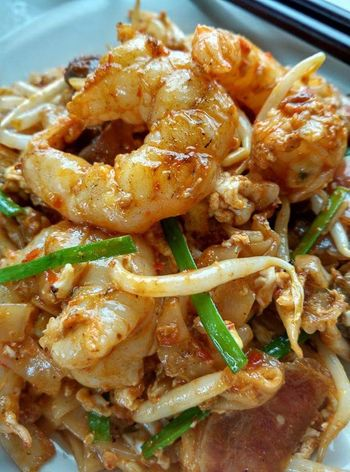 Nothing is more than a plate of fat rice noodles ♥Charkoewteow Penang Food Penang Malaysia Foodparadise