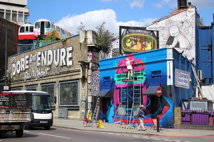 Architecture Art Buildings City Life Colorful London Paintings Street Street Art Shoreditch Canon EOS 600D EyeEm Best Shots EyeEm
