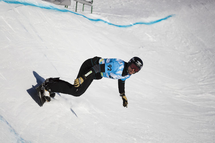 World Cup Snowboard Croos in Cerro Catedral, San Carlos de Bariloche Jump Nature Sbx Snowboarding Winter Action Action Shot  Adventure Argentina Cerro Catedral Competition Competitive Sport Fiss Lifestyles Mountain People Photo Photography Real People Snow Snowboard Moments Snowboarding Snowcapped Mountain Winter Sport World Cup