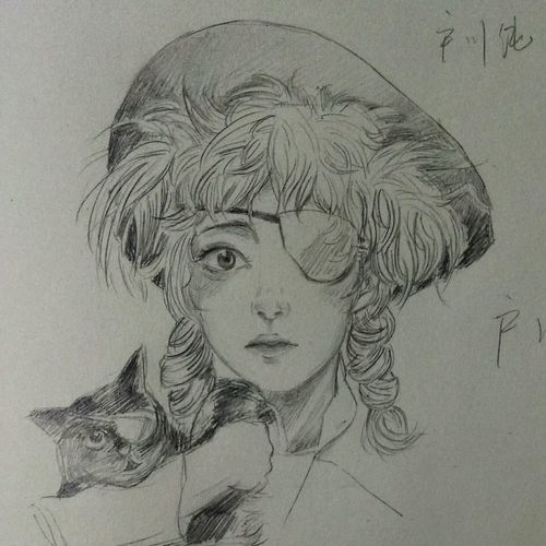 Lady 户川纯 Drawing Enjoying Life