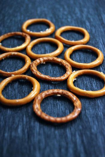 pretzels Bakery Close-up Crackers Day Food Fooodlover No People Pretzels Ring Salt