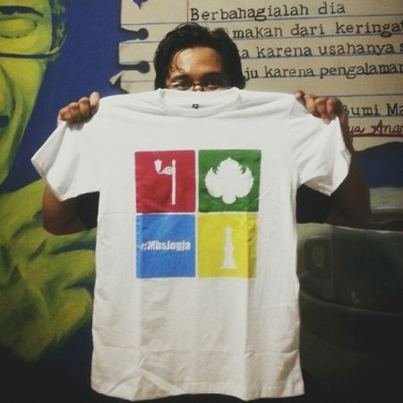 Iyeeees kaos orderan JS kelar & siap d kirim ke masing - masing ? Merchandise Tshirt Kaos MhsJogja