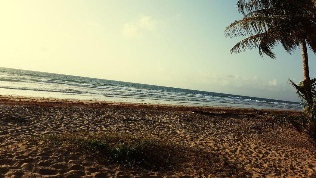 Horizon Over Water Tranquility Wave Scenics Trinidad And Tobago Mayaro Beach Sea Cloud - Sky Beauty In Nature