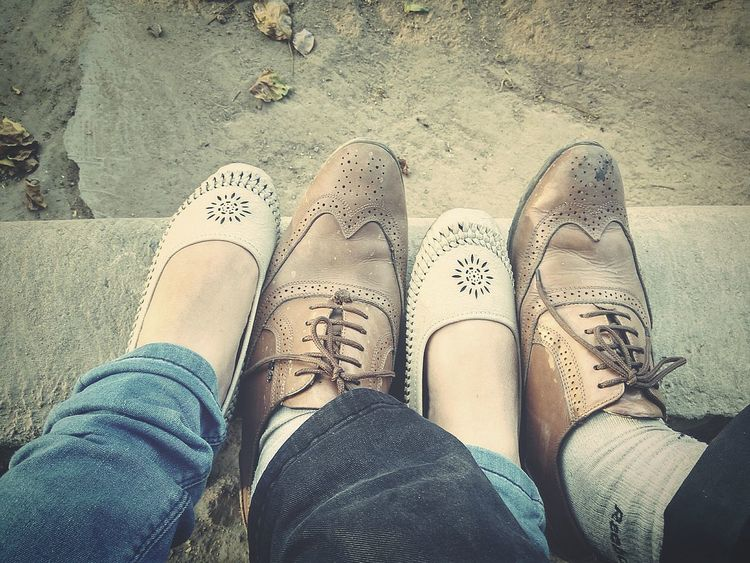 Long Gone  Low Section Human Foot High Angle View Lifestyles Outdoors Leisure Activity Personal Perspective Love ♥ Day BYOPaper!