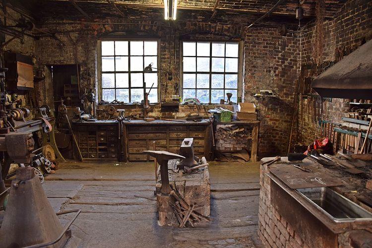 Blacksmithing Craft Craftsmanship; Forge  Iron - Metal Metalworking Window Window Frame