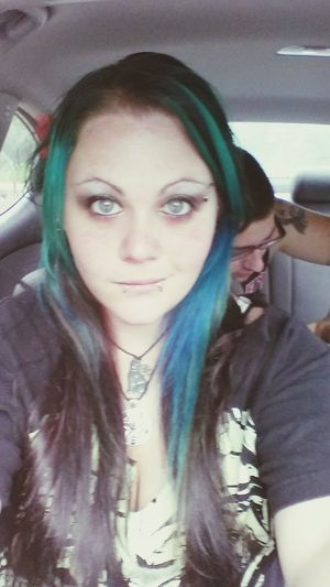 Haircolor Brighteyes  Carselfies Fallowme Fallow Me Tuesdays  Adventure Get Lost Blue Eyes RainyDays