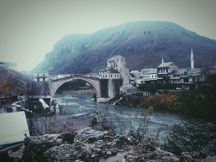 Bosna ♡ The Old Bridge In Mostar Rainydaychilling