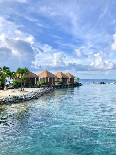 Private Island Caribbean Aruba Vacation Time Vacation Vacations Peace Luxury Luxury Hotel Water Built Structure Architecture Cloud - Sky Building Exterior Sky House Nature Waterfront Building Residential District Beauty In Nature Day Sea No People Stilt House Tranquility Scenics - Nature Tranquil Scene Outdoors