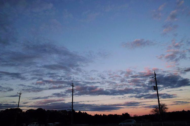 お疲れさまでした。 SigmaDP1X Twilight 夕暮れ時 Afterglow Sky