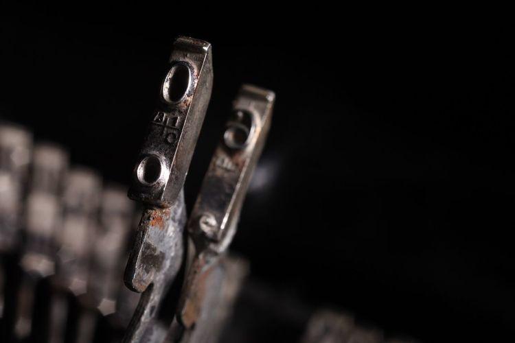 Close-up of metals