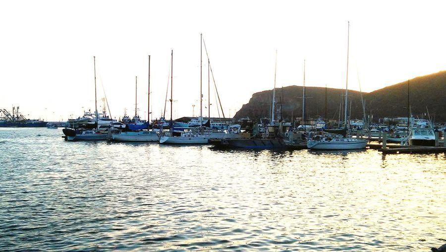 Ensenada Boats Sea And Sky