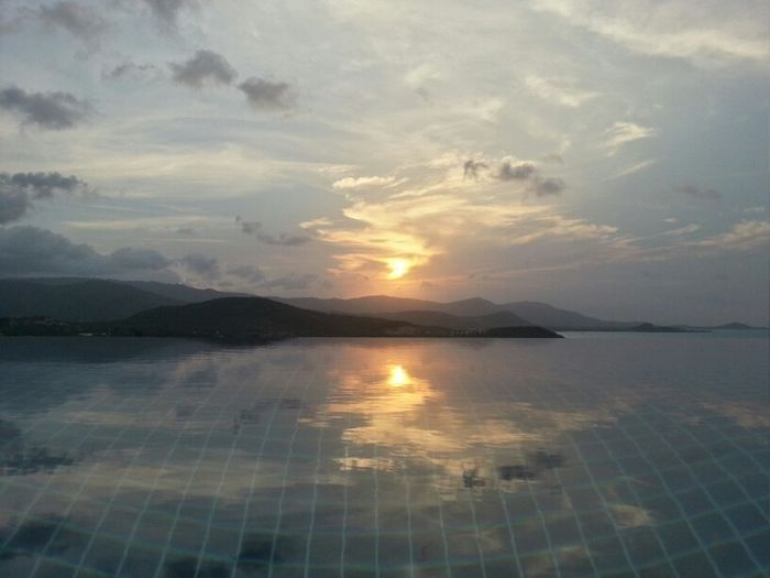 Sunset Samui