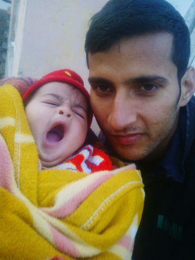 With my cute doughter ARADHYA DEDHA First Eyeem Photo