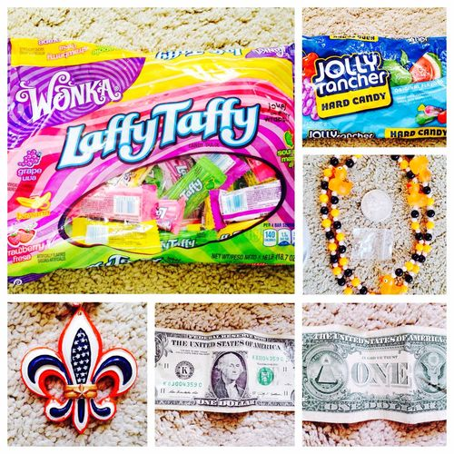 Love my stuff for America that my sister got me ? xxxxx America