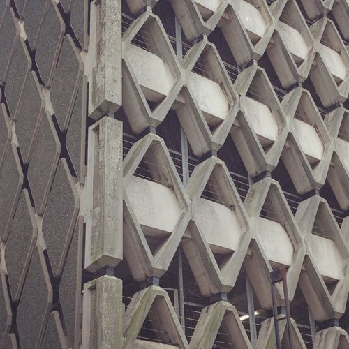 Abstract Abstract Photography Architecture Backgrounds Building Exterior Built Structure Close-up Concrete Concrete Wall Concretedesign Day Façade Honeycomb Indoors  Low Angle View Minimal Minimalism Minimalist Architecture No People Parkhaus Parking Parking Garage Parking Lot Pattern Structure
