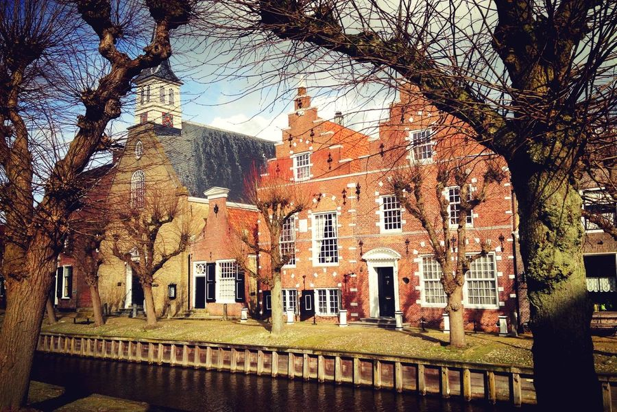 Building Exterior Architecture No People Sky Outdoors Day Streetphotography Tree Dutch Houses Dutch House Dutch Landscape Winter 2017 Neighborhood Map