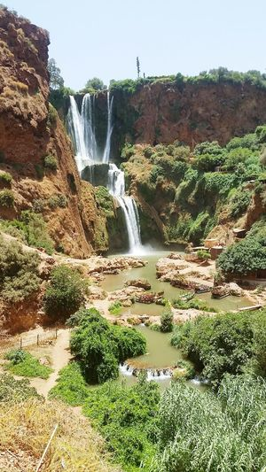 Taking Photos Hello World Promenade Trip Nature Cascades Voyage Ash Paysage Vaccances Marocco Maroc Ouzoud Falls Ouzoud