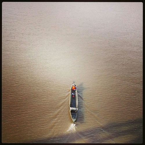 lonely boat River Traditional Boat Banjarmasin