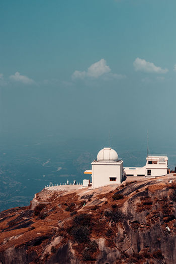 Beautiful scenes from the guru shikhar point in udaipur. this point is 1722 metres tall.