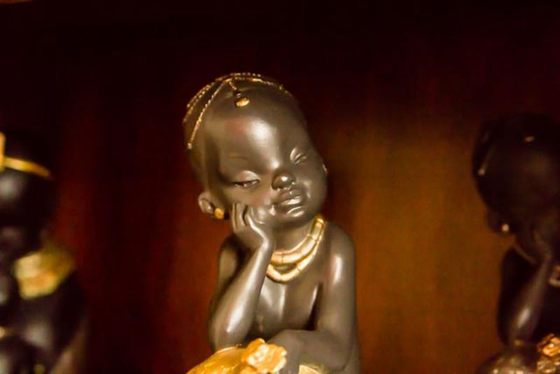 African Art AFRICAN CULTURE Deaming Child Emotion Human Representation No People Sculpture Statue