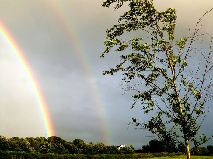 Double rainbow Rainbow Double Rainbow Scotland Cool Beautiful Countryside Pretty Beautiful Nature Weather