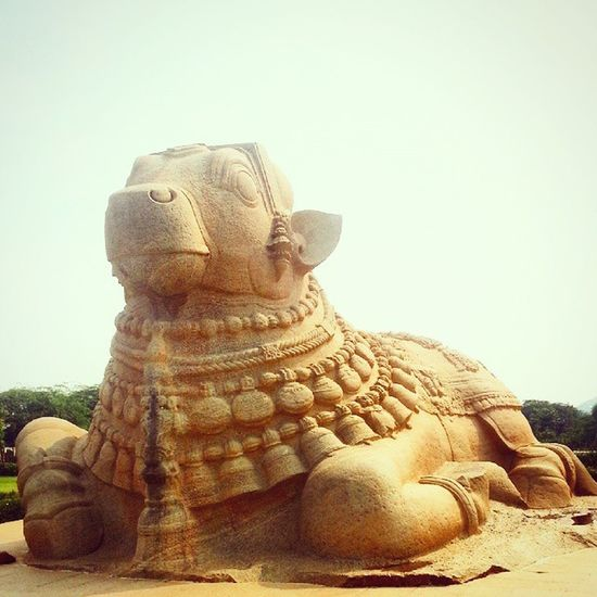 Lepakshi Nandi One Kickass Monolithic  Sculpture