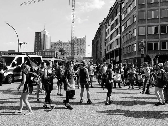 Street Musik g20 make Peace no war Large Group Of People Real People Unity