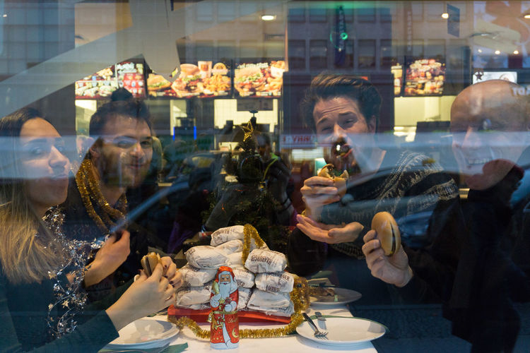 Christmas Challenge in McDonal's with @lorenz @GraceFarson @jedrzej EyeEm Christmas Challenge EyeEm Christmas Party 2017 EyeEm Christmas Photography EyeEm Team Neukölln Eyeem Party Fat Mcdonalds