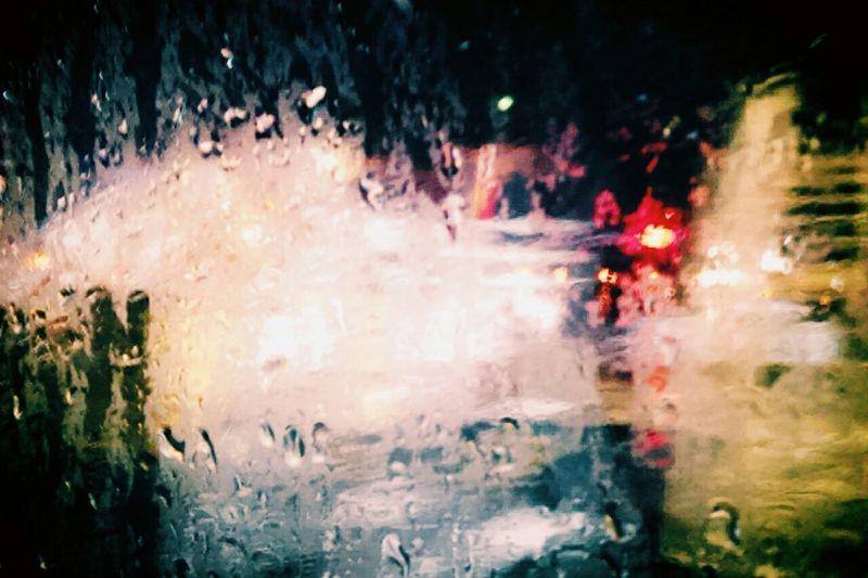 Colors Rain Sad