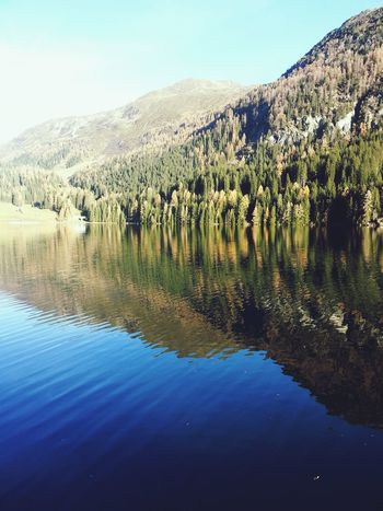 Better Look Twice Water Reflections Mountain View EyeEm Nature Lover From My Point Of View Mountain_collection Creative Light And Shadow EyeEm Gallery I Love Switzerland !!! Lake Davos EyeEm Best Shots - Nature Eye Em Around The World