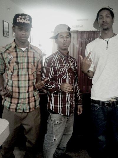 Three migos #BroGods no lackin #OTF