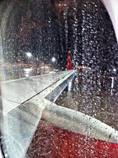 Leaving rainy