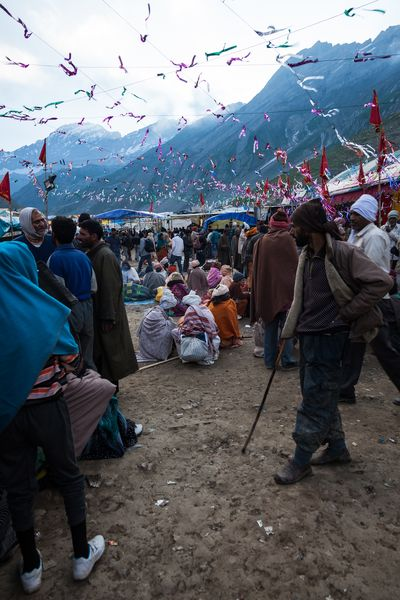 Sheshnag Base Camp Zeltlager Pilgrimage Pilgrim Sheshnag Amarnath Yatra Canon EOS 5D MkII Hinduism Kashmir Amarnathtrip Hindu Pilgrimage Himalaya Jammu And Kashmir Kaschmir Amarnath Trekking Eos5dmarkii India Indien Himalaya Trekking Hiking Berge Camp Kashmiri Kashmiri People
