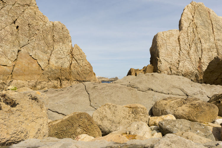 Cantabria Nature SPAIN Arid Climate Arnia Beach Beauty In Nature Day Geology Landscape Nature No People Ocean Outdoors Physical Geography Rock - Object Rock Formation Scenics Sea Sky Tranquil Scene Tranquility Water