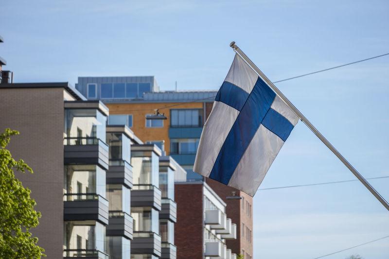 Midsummer Juhannus Independence Day Turku Suomi Finland Flag Lippu Suomen Lippu First Eyeem Photo
