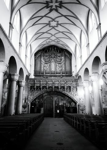 Indoors  Arch Architectural Column Architecture Built Structure History Religion Place Of Worship Illuminated No People Black & White Black And White Photography Taking Photos Architecture_collection Architecture Church Window Church Monochrome Collection Black And White Monochrome Photograhy Monochrome Photography Indoors  Your Ticket To Europe